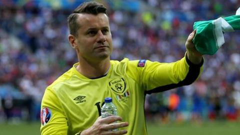 Shay Given won 134 caps for the Republic of Ireland