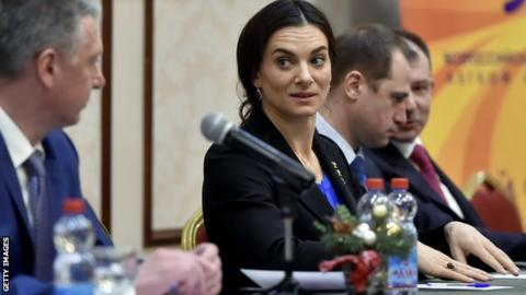 WADA upset about Yelena Isinbayeva retaining key doping job