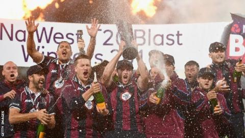 Northants T20 champions