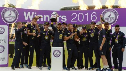 Ian Bell lifted his first trophy as Warwickshire captain when the Bears beat Surrey in last season's One-Day Cup final at Lord's