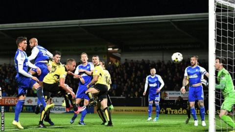 Varney own goal