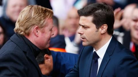 Ronald Koeman and Mauricio Pochettino