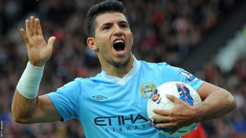 Shearer: Aguero Should Try For 30 Goals