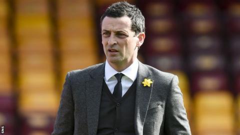 St Mirren boss Jack Ross