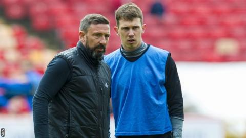Derek McInnes and Ryan Jack