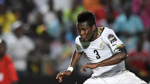 Asamoah Gyan equals Van Persie, Edin Dzeko's scoring records