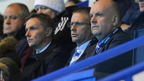 Kevin Keen watches Colchester take on Rochdale