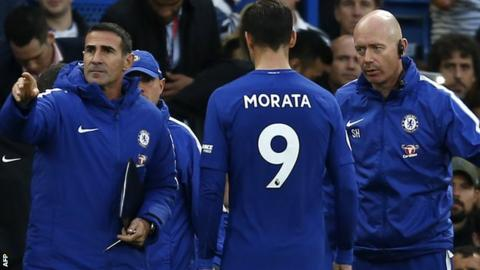 On sabbatical: Morata out for a month with hamstring injury