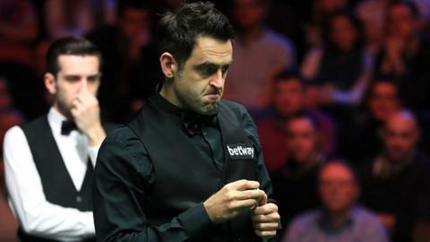 Ronnie O'Sullivan ponders his options