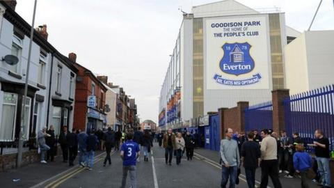 Everton's Goodison stadium