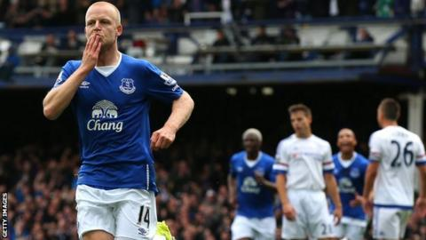Steven Naismith came on as a substitute to score three against Chelsea