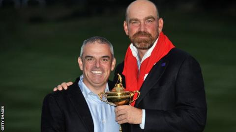 Thomas Bjorn appointed European Ryder Cup captain
