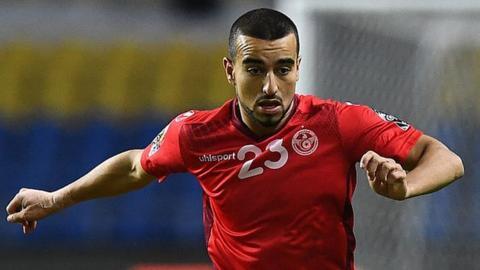 Tunisia international Naim Sliti
