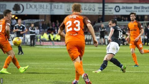 Paul McGowan scores