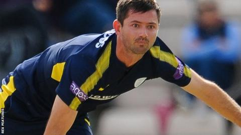 Hampshire all-rounder Ian Holland