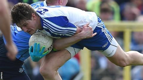 Darren Hughes made his Monaghan debut in 2006