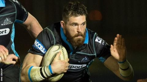 Sean Lamont in action for Glasgow