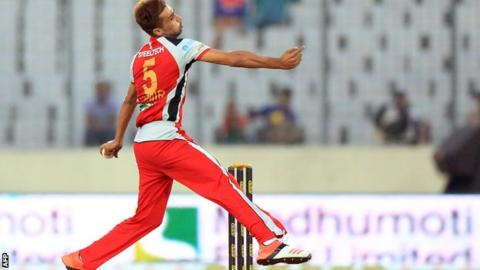 Mohammad Amir in the Bangladesh Premier League