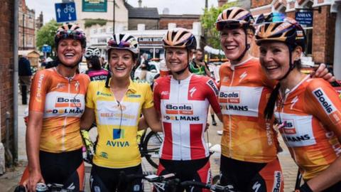 Lizzie Deignan wins 2016 Women's Tour