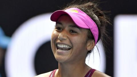 Heather Watson beat Bethanie Mattek-Sands