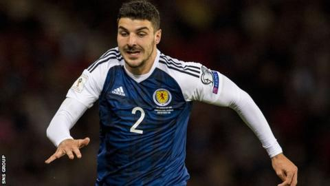 Callum Paterson has been capped five times for Scotland