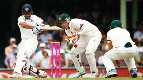India's Ajinkya Rahane hits out against Australia