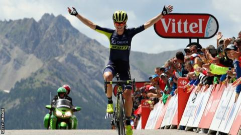 After Olympic crash, Annemiek van Vleuten wins La Course stage