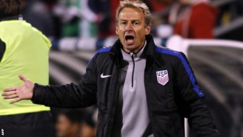 USA soccer chief non-committal on future of Klinsmann