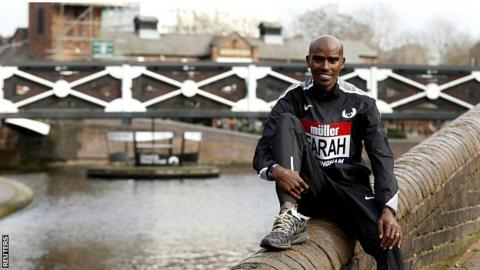 Farah ready to finish indoor career on a high in Birmingham