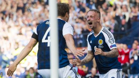 Scotland celebrate
