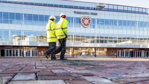 Hearts Still Waiting for Tynecastle Safety Certificate