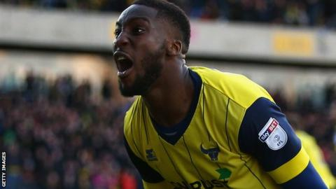 Oxford United defender Chey Dunkley