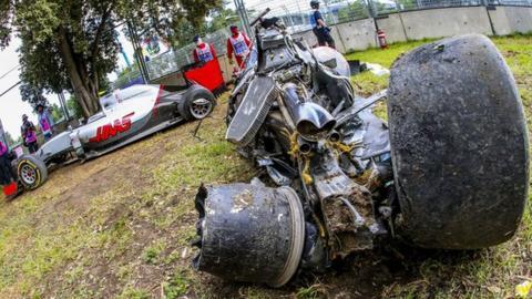 Luckiest Man Alive Car Crash