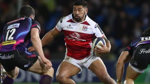 Bristol sign Ulster back Charles Piutau on a two-year deal