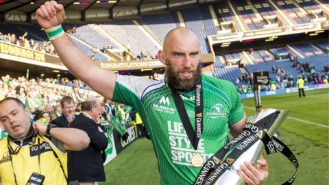 Connacht captain John Muldoon