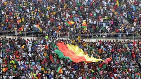 Cameroon fans