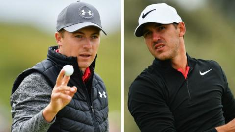 Jordan Spieth and Brooks Koepka