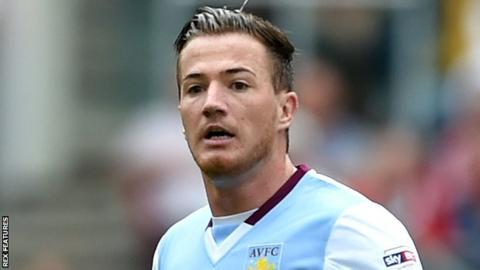 Aston Villa striker Ross McCormack