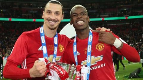 Ibrahimovic and Pogba