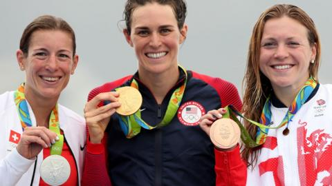 Triathlon medallists