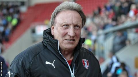 Rotherham United manager Neil Warnock