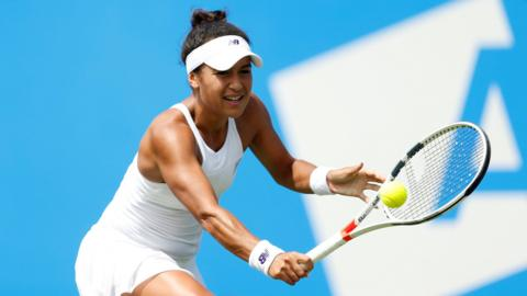 GB's Heather Watson