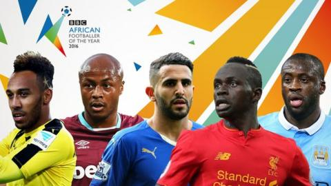 Riyad Mahrez named BBC African Footballer of the Year