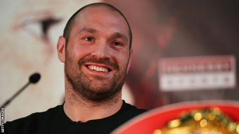 Tyson Fury responds to Anthony Joshua's uncharacteristically sweary dig
