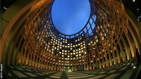The EU Parliament in Strasboug
