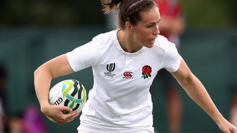 England's Emily Scarratt