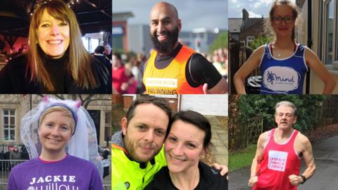 Seven runners from the London Marathon 2017