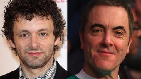 Michael Sheen and James Nesbitt