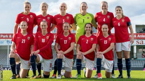 Norwegian Football Association to pay male and female players equally