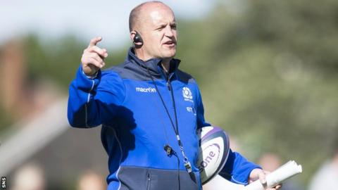 Gregor Townsend, Scotland head coach